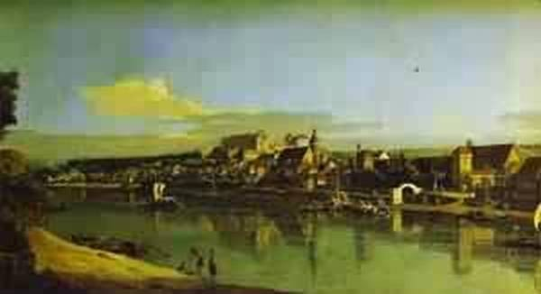 pirna seen from the right bank of the elbe 1747 55 XX the hermitage st petersburg russia